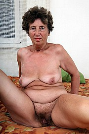 old granny spreading her hairy twat